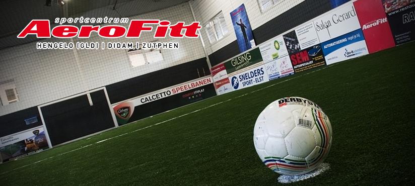 voetbalteamuitje, indoor soccer