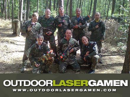 Outdoor lasergamen